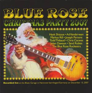 Cover - Markus Rill: Blue Rose Christmas Party 2007