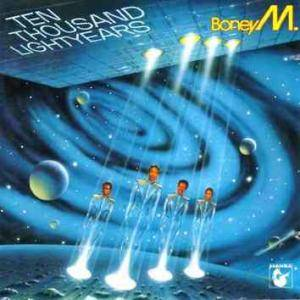 Boney M.: Ten Thousand Lightyears (Promo-LP) - Bild 1