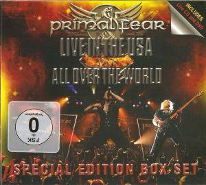 Cover - Primal Fear: Live In The USA / 16.6 - All Over The World