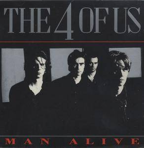 The 4 Of Us: Man Alive - Cover