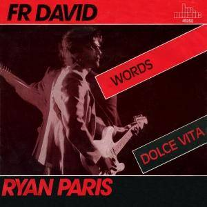 Cover - Ryan Paris: Words / Dolce Vita