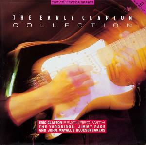 Eric Clapton & The Yardbirds: Early Clapton Collection, The - Cover