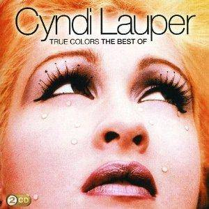 Cyndi Lauper: True Colors: The Best Of Cyndi Lauper - Cover