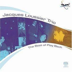 Jacques Loussier Trio: Best Of Play Bach, The - Cover