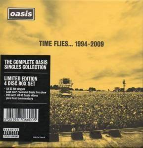 Oasis: Time Flies... 1994-2009 - Cover