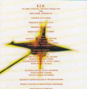 R.E.M.: Automatic For The People (CD) - Bild 6