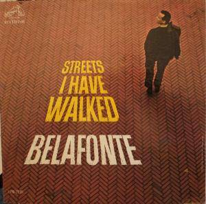 Harry Belafonte: Streets I Have Walked - Cover