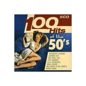 Cover - Dominoes Featuring Clyde MC Phatter: 100 Hits Of The 50's
