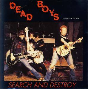 Cover - Dead Boys: Search And Destroy