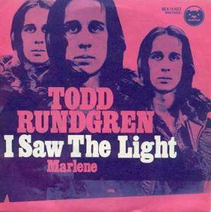 Cover - Todd Rundgren: I Saw The Light