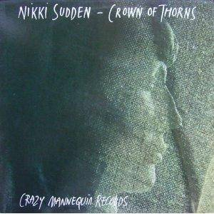 Nikki Sudden: Crown Of Thorns - Cover
