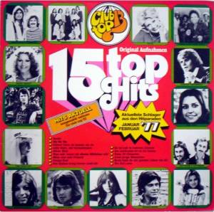 Club Top 13 - 15 Top Hits - Januar / Februar 1977 - Cover