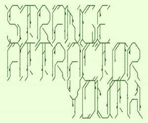 Cover - Strange Attractor: Youth