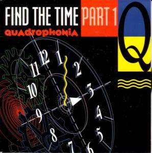 Quadrophonia: Find The Time Part 1 - Cover