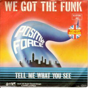 Positive Force: We Got The Funk - Cover