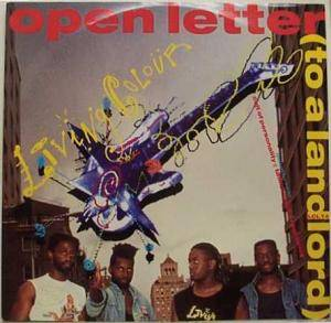 Living Colour: Open Letter (To A Landlord) - Cover