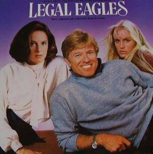 Legal Eagles - Music From The Motion Picture Soundtrack - Cover