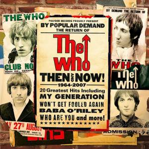 The Who: Then And Now 1964-2004 - Cover