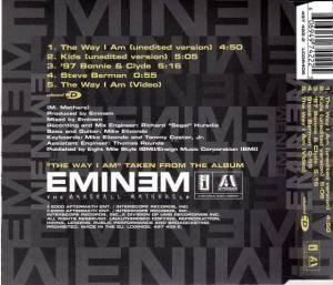 Eminem: The Way I Am (Single-CD) - Bild 2