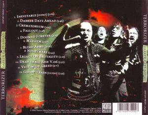 Terrorizer: Darker Days Ahead (CD) - Bild 2