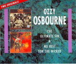 Cover - Ozzy Osbourne: Ultimate Sin / No Rest For The Wicked, The