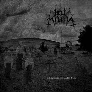 Hell Militia: Last Station On The Road To Death - Cover