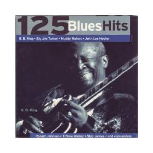 Cover - Marv Johnson: 125 Blues Hits