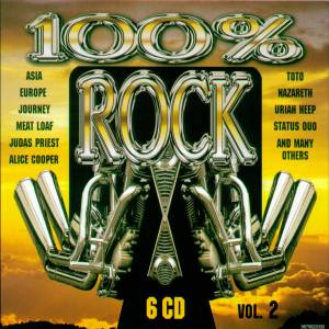 Cover - Roachford: 100% Rock Vol. 2