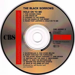 The Black Sorrows: Hold On To Me (CD) - Bild 3