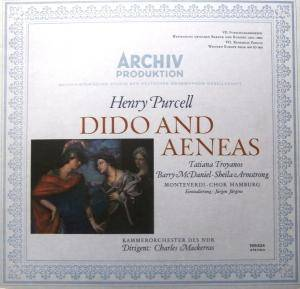 Henry Purcell: Dido And Aeneas - Cover