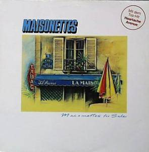 The Maisonettes: Maisonettes For Sale - Cover