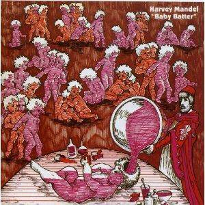 Harvey Mandel: Baby Batter - Cover