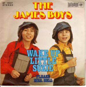 Cover - James Boys, The: Wake Up Little Suzie