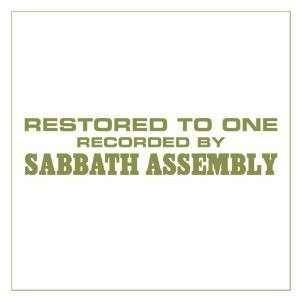 Sabbath Assembly: Restored To One - Cover