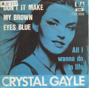Crystal Gayle: Don't It Make My Brown Eyes Blue - Cover