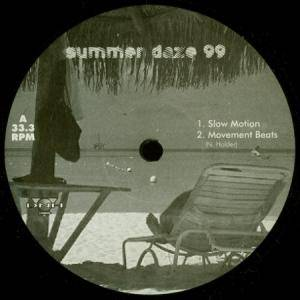 Cover - Nick Holder: Summer Daze 99