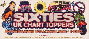 Sixties UK Chart Toppers - Cover