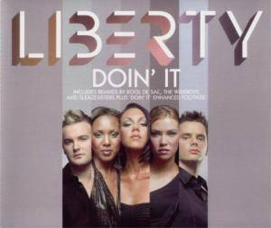 Cover - Liberty X: Doin' It