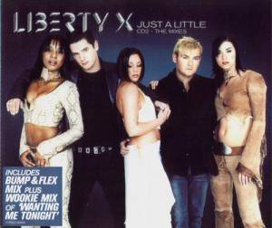 Liberty X: Just A Little - Cover