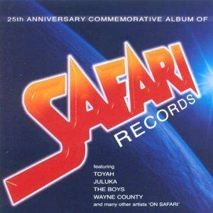 Cover - Toyah: 25th Anniversary Commemorative Album of SAFARI Records