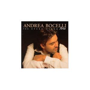 Cover - Francesco Cilèa: Andrea Bocelli - The Opera Album Aria