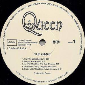Queen: The Game (LP) - Bild 3
