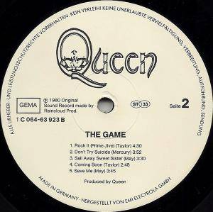 Queen: The Game (LP) - Bild 4