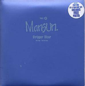 Cover - Mansun: Three EP