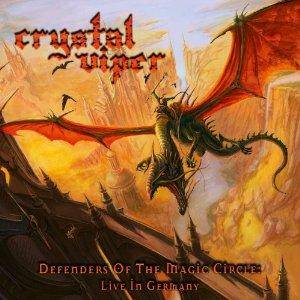 Cover - Crystal Viper: Defenders Of The Magic Circle: Live In Germany