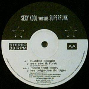 Cover - Superfunk: Sexy Kool Vs. Superfunk