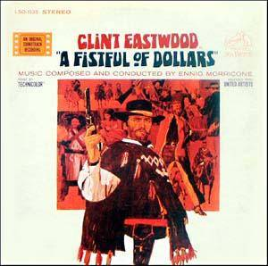 Ennio Morricone: Fistful Of Dollars, A - Cover