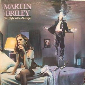 Martin Briley: One Night With A Stranger - Cover