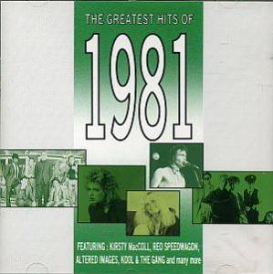 Greatest Hits Of 1981, The - Cover