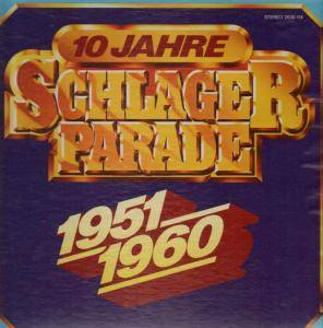 Cover - Lale Andersen: 10 Jahre Schlagerparade 1951-1960